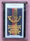 NORTHAMPTONSHIRE REGIMENT CAP BADGE FRIDGE MAGNET 1939